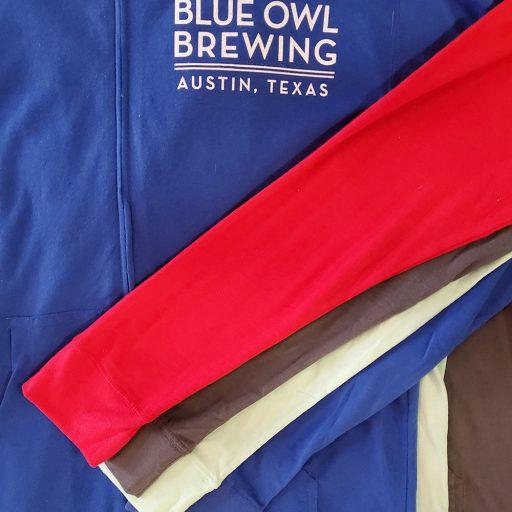 austin texas brewery hoodie