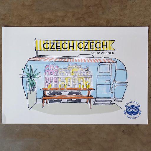 Czech Czech Poster