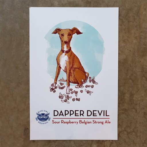 Dapper Devil Poster