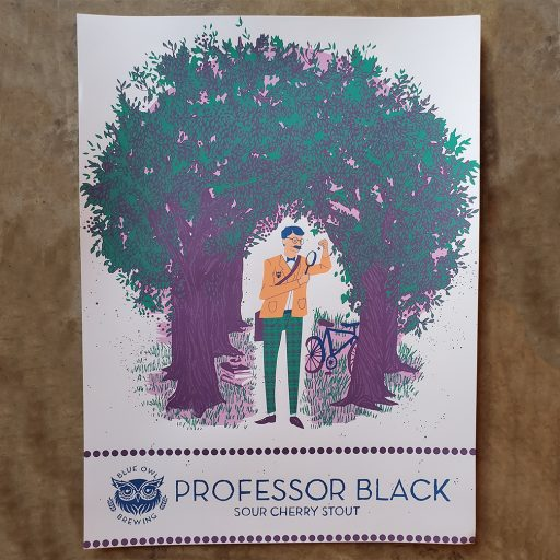 Professor Black Poster