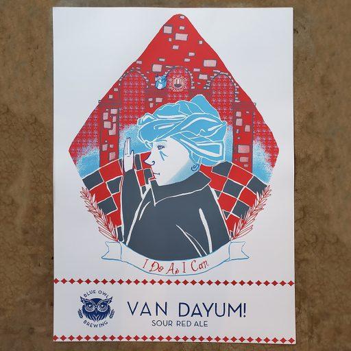 Van Dayum Poster
