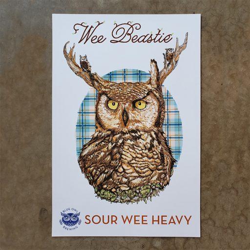Wee Beastie Poster
