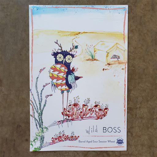 Wild Boss Poster