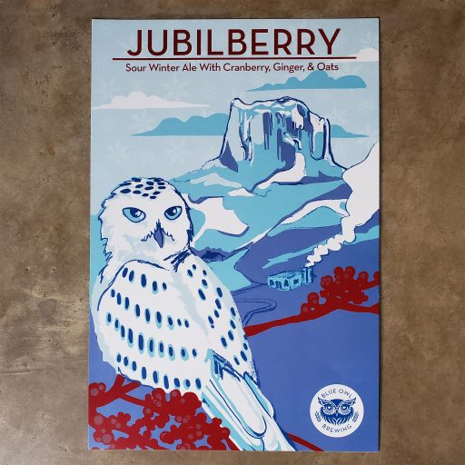 Jubilberry Poster