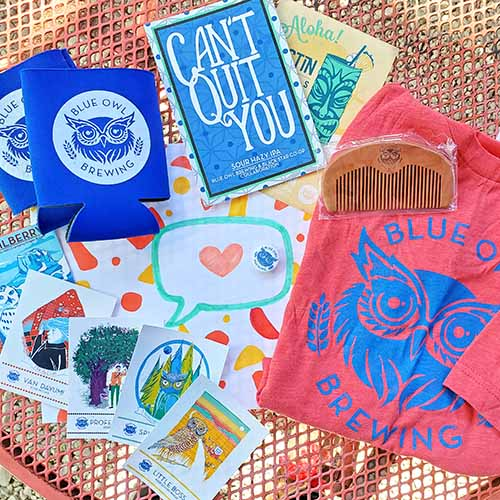 Blue Owl Merchandise