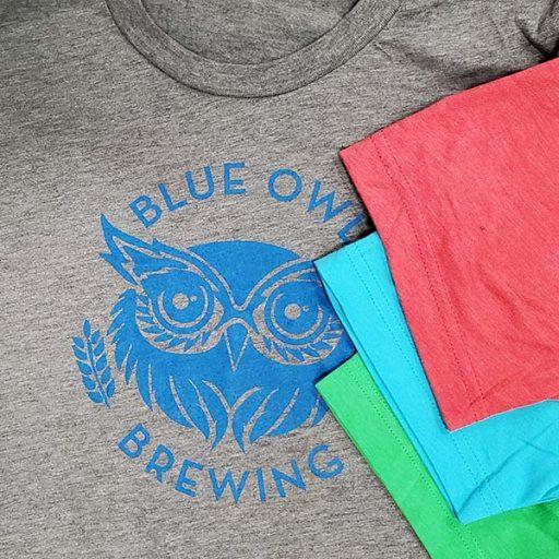 Unisex brewery logo tshirt