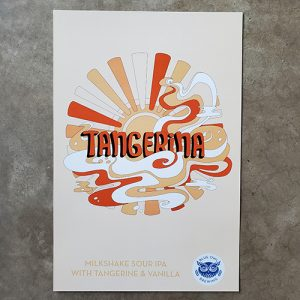 Tangerina poster