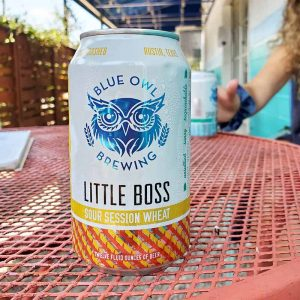 Little Boss sour session wheat beer can