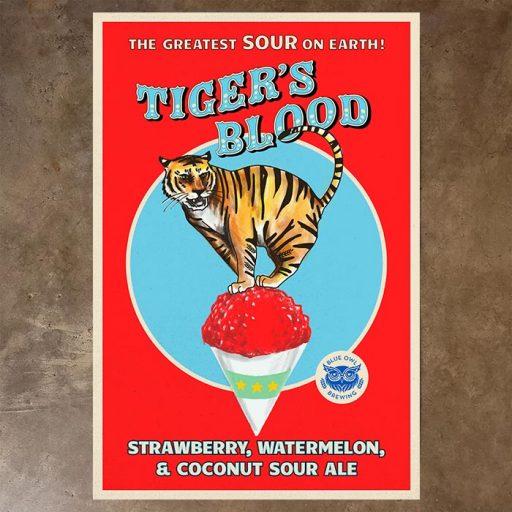 tiger's blood poster